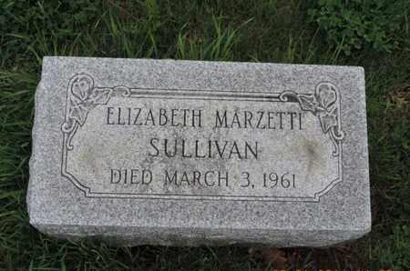 SULLIVAN, ELIZABETH - Franklin County, Ohio | ELIZABETH SULLIVAN - Ohio Gravestone Photos