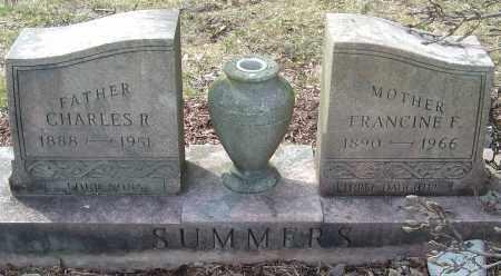 SUMMERS, FRANCINE F - Franklin County, Ohio | FRANCINE F SUMMERS - Ohio Gravestone Photos