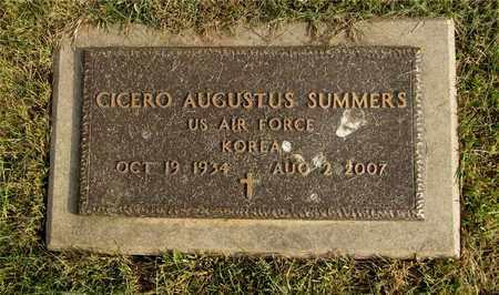 SUMMERS, CICERO AUGUSTUS - Franklin County, Ohio | CICERO AUGUSTUS SUMMERS - Ohio Gravestone Photos