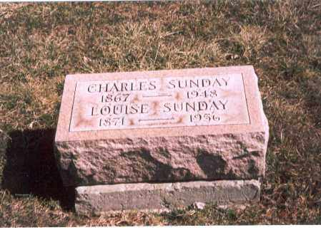 SUNDAY, LOUISE - Franklin County, Ohio | LOUISE SUNDAY - Ohio Gravestone Photos