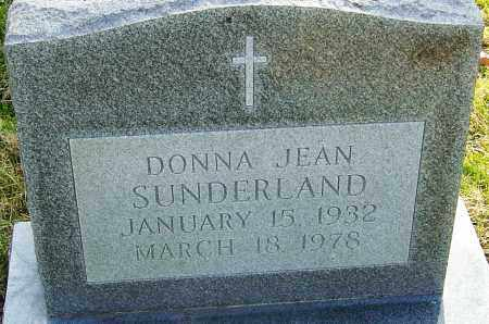 ROBINSON SUNDERLAND, DONNA - Franklin County, Ohio | DONNA ROBINSON SUNDERLAND - Ohio Gravestone Photos