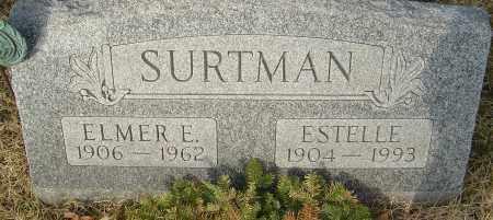 SURTMAN, ELMER - Franklin County, Ohio   ELMER SURTMAN - Ohio Gravestone Photos
