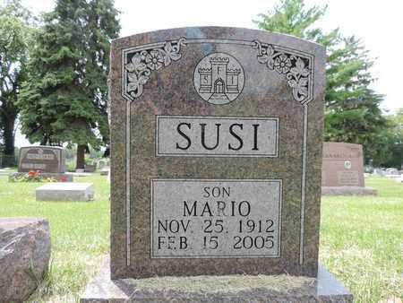 SUSI, MARIO - Franklin County, Ohio   MARIO SUSI - Ohio Gravestone Photos