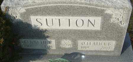 SUTTON, KENNETH E - Franklin County, Ohio | KENNETH E SUTTON - Ohio Gravestone Photos