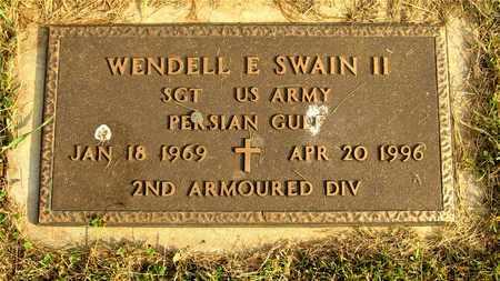 SWAIN, WENDELL E. - Franklin County, Ohio | WENDELL E. SWAIN - Ohio Gravestone Photos