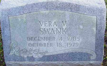 SWANK, VERA - Franklin County, Ohio   VERA SWANK - Ohio Gravestone Photos