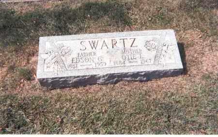 SWARTZ, EDSON G. - Franklin County, Ohio | EDSON G. SWARTZ - Ohio Gravestone Photos
