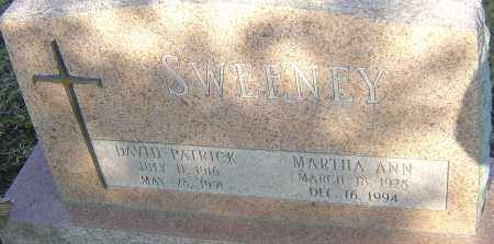 SWEENEY, MARTHA ANN - Franklin County, Ohio | MARTHA ANN SWEENEY - Ohio Gravestone Photos