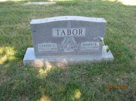 TABOR, LEROY L - Franklin County, Ohio | LEROY L TABOR - Ohio Gravestone Photos