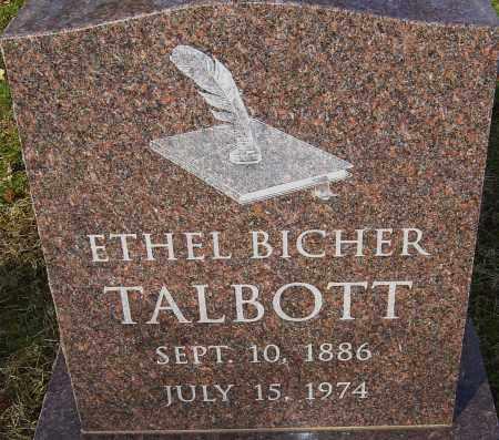 TALBOTT, ETHEL - Franklin County, Ohio | ETHEL TALBOTT - Ohio Gravestone Photos