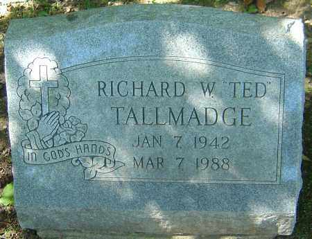 "TALLMADGE, RICHARD W ""TED"" - Franklin County, Ohio   RICHARD W ""TED"" TALLMADGE - Ohio Gravestone Photos"