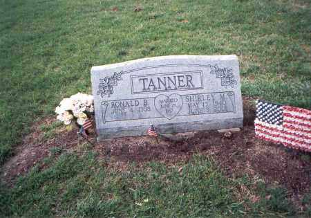TANNER, SHIRLEY - Franklin County, Ohio | SHIRLEY TANNER - Ohio Gravestone Photos