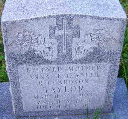 TAYLOR, ANNA - Franklin County, Ohio | ANNA TAYLOR - Ohio Gravestone Photos