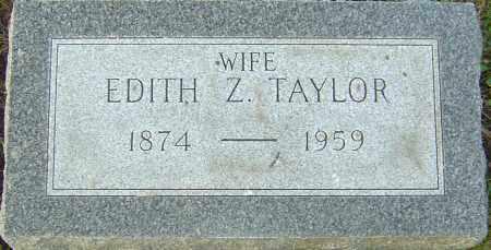 TAYLOR, EDITH Z - Franklin County, Ohio | EDITH Z TAYLOR - Ohio Gravestone Photos