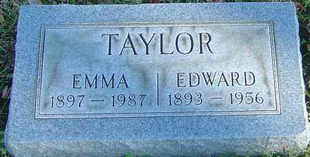 TAYLOR, EDWARD - Franklin County, Ohio | EDWARD TAYLOR - Ohio Gravestone Photos