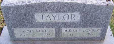 DOWDEN TAYLOR, DOROTHY - Franklin County, Ohio | DOROTHY DOWDEN TAYLOR - Ohio Gravestone Photos