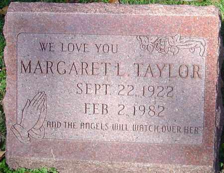 TAYLOR, MARGARET L - Franklin County, Ohio   MARGARET L TAYLOR - Ohio Gravestone Photos