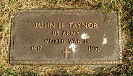 TAYNOR, JOHN H. - Franklin County, Ohio   JOHN H. TAYNOR - Ohio Gravestone Photos