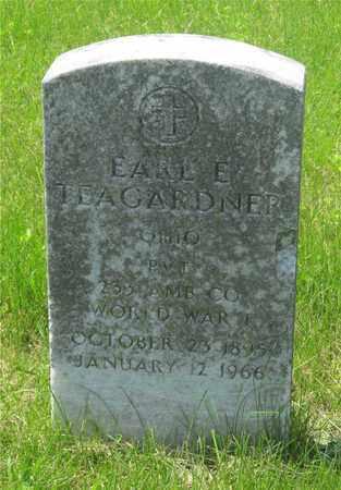 TEAGARDNER, EARL E. - Franklin County, Ohio   EARL E. TEAGARDNER - Ohio Gravestone Photos