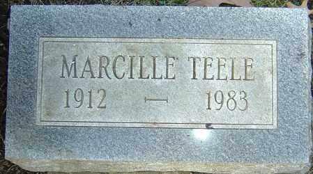 TEELE, MARCILLE - Franklin County, Ohio | MARCILLE TEELE - Ohio Gravestone Photos