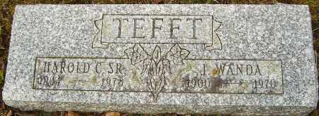 TEFFT, HAROLD C - Franklin County, Ohio | HAROLD C TEFFT - Ohio Gravestone Photos