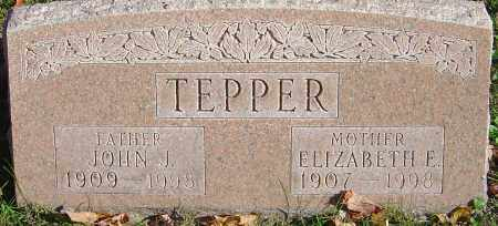 GARDNER TEPPER, ELIZABETH E - Franklin County, Ohio | ELIZABETH E GARDNER TEPPER - Ohio Gravestone Photos