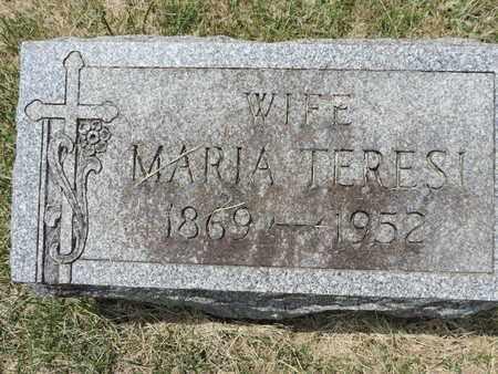TERESI, MARIA - Franklin County, Ohio | MARIA TERESI - Ohio Gravestone Photos
