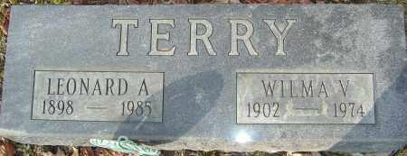 TERRY, WILMA V - Franklin County, Ohio | WILMA V TERRY - Ohio Gravestone Photos