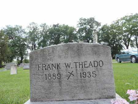 THEADO, FRANK W. - Franklin County, Ohio   FRANK W. THEADO - Ohio Gravestone Photos