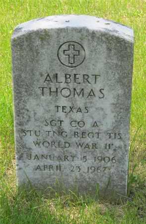 THOMAS, ALBERT - Franklin County, Ohio   ALBERT THOMAS - Ohio Gravestone Photos