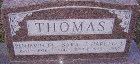 FOX THOMAS, SARA - Franklin County, Ohio | SARA FOX THOMAS - Ohio Gravestone Photos