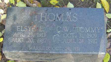 THOMAS, ELSYE - Franklin County, Ohio | ELSYE THOMAS - Ohio Gravestone Photos
