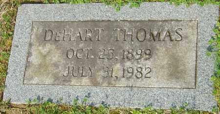 THOMAS, DEHART - Franklin County, Ohio | DEHART THOMAS - Ohio Gravestone Photos