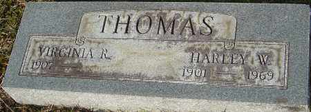 THOMAS, HARLEY W - Franklin County, Ohio | HARLEY W THOMAS - Ohio Gravestone Photos