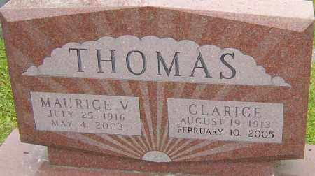 THOMAS, MAURICE - Franklin County, Ohio | MAURICE THOMAS - Ohio Gravestone Photos