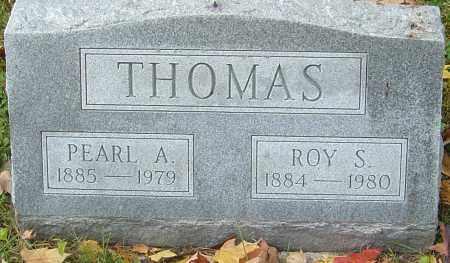 THOMAS, ROY S - Franklin County, Ohio | ROY S THOMAS - Ohio Gravestone Photos
