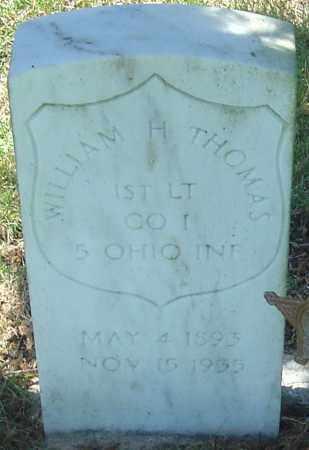 THOMAS, WILLIAM HANNIBAL - Franklin County, Ohio | WILLIAM HANNIBAL THOMAS - Ohio Gravestone Photos