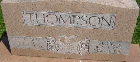 THOMPSON, VIRGIL S - Franklin County, Ohio | VIRGIL S THOMPSON - Ohio Gravestone Photos