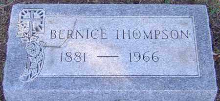 THOMPSON, BERNICE - Franklin County, Ohio   BERNICE THOMPSON - Ohio Gravestone Photos