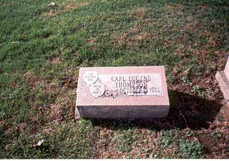 THOMPSON, CARL EUGENE - Franklin County, Ohio   CARL EUGENE THOMPSON - Ohio Gravestone Photos