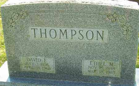 THOMPSON, ETHEL M - Franklin County, Ohio | ETHEL M THOMPSON - Ohio Gravestone Photos