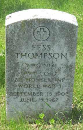 THOMPSON, FESS - Franklin County, Ohio | FESS THOMPSON - Ohio Gravestone Photos