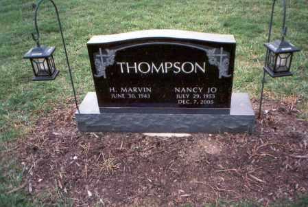 THOMPSON, H. MARVIN - Franklin County, Ohio | H. MARVIN THOMPSON - Ohio Gravestone Photos