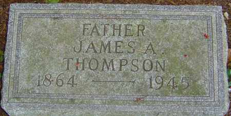 THOMPSON, JAMES ALBERT - Franklin County, Ohio | JAMES ALBERT THOMPSON - Ohio Gravestone Photos