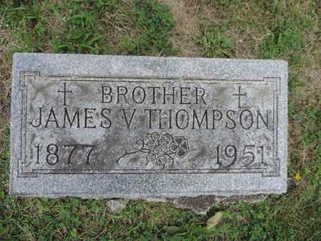 THOMPSON, JAMES V. - Franklin County, Ohio | JAMES V. THOMPSON - Ohio Gravestone Photos