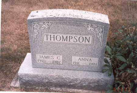 THOMPSON, ANNA - Franklin County, Ohio   ANNA THOMPSON - Ohio Gravestone Photos