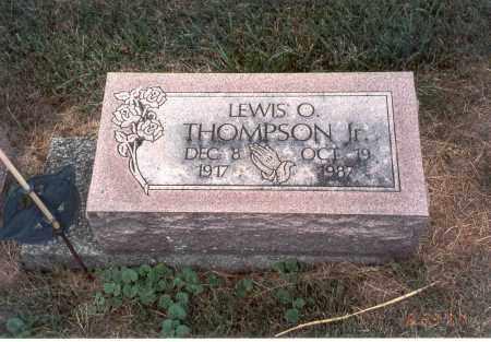 THOMPSON, JR., LEWIS O. - Franklin County, Ohio   LEWIS O. THOMPSON, JR. - Ohio Gravestone Photos