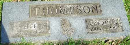 THOMPSON, CARRIE N - Franklin County, Ohio | CARRIE N THOMPSON - Ohio Gravestone Photos