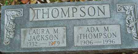 JACKSON THOMPSON, LAURA MAE - Franklin County, Ohio | LAURA MAE JACKSON THOMPSON - Ohio Gravestone Photos