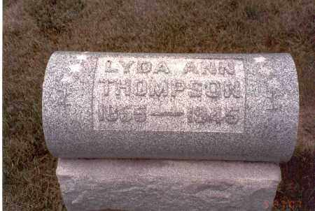THOMPSON, LYDA ANN - Franklin County, Ohio | LYDA ANN THOMPSON - Ohio Gravestone Photos